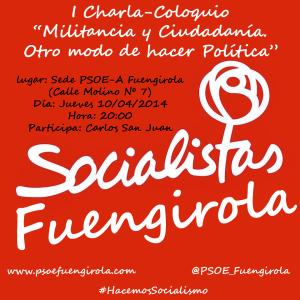 I Charla Coloquio PSOE-A Fuengirola