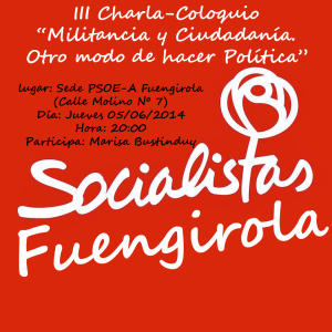 III Charla Coloquio PSOE-A Fuengirola copia