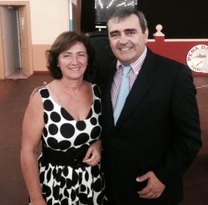 Carmen Segura y José Manuel Martín Peña
