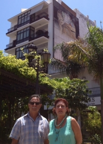 Natividad López Cano y Vicente Ferrer