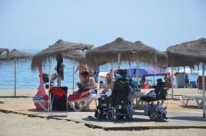 Playa-discapacitados