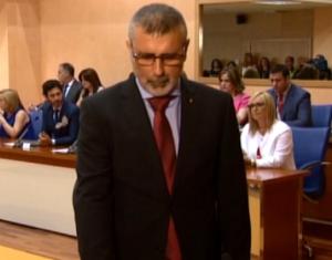 JM Serrato en su investidura como concejal