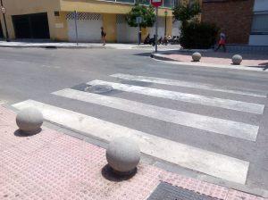 bolas de granito en C-Mallorca