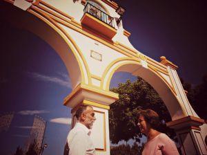Sancho Adam y Carmen Segura