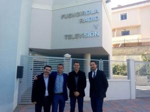 Javier Toro, Pedro Blanes, José Miguel López y Javier García León
