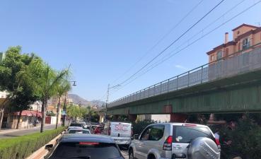 Desviación a la zona de Los Boliches